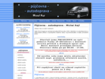půjčovna - autodoprava - Michal Kejř - profil