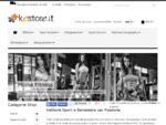 KeStore Tapis Roulant Fitness Integratori Dieta Zona
