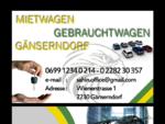KFZ-SAHIN mietwagen gänserndorf , gebrauchtwagen gänserndorf