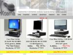 Kompiuteriu gama-Naudoti Dell, IBM, HP kompiuteriai, monitoriai, nesiojami kompiuteriai, kompiuteriu