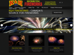 Canada's Source for Retail Fireworks. Wholesale Fireworks Professional Fireworks Displays