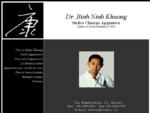 Dr. Binh Ninh Khuong - Medico Chirurgo Agopuntore