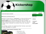 Kickershop.at - Teambekleidung, Sportdressen bzw. Trikots sowie Fussballzubehör und Werbeartikel