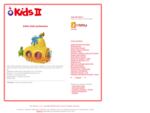 Zabawki Kids II - bezpieczne zabawki dla dzieci i niemowląt