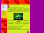 Kids disco party and dj for melbourne children's birthday parties