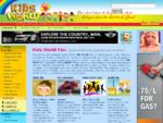 Kids World Fun – Free Online Portal Website for Kids, Parents and Teachers