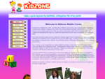 Kidzone Mobile Creche Fully insured mobile creche service for weddings, conferences and other ...