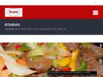 Etusivu | Kiinalainen ravintola, Pizzeria, Pub - Kiem - Kaakkuri - Oulu - Kiinalainen ruoka