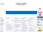 Kindergarten Kindertageseinrichtung Online Handbuch zu Kindergartenpädagogik Elementarbildung ...