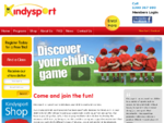 Kindysport is a great way to introduce children to sports and exercise.