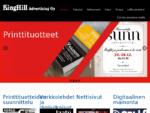 Markkinoinnin ja mainonnan suunnittelutoimisto Helsingin Kalasatamassa | Kinghill Advertising Oy