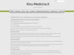 Kinų Medicina - Kinų Medicinos Seminarų Tvarkaraštis