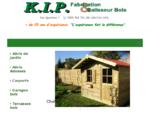 KiP Fabricant d'abris de jardin bois - ossature bois