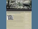 Kirchbergforum. Kammerkonzert Programme und Vorschau, Veranstalter Prof. Heinz Bauer