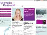 Kirkevalget 2011 - Forsiden