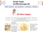 Kirsten Isagers webside til akvarel, akryl og tegninger, samt undervisning