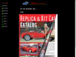 Replika und Kit Car Katalog