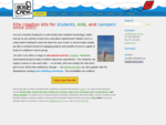 The Kite Crew mdash; Kite creation kits for students, kids, and campers since 2001