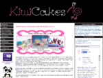 Kiwi Cakes, suppliers of cake decorating tins, silicon moulds and equipment
