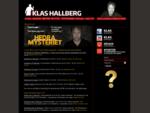 Klas Hallberg - Startsida