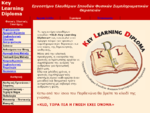 Key Learning Diploma