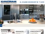 Keukens en Badkamers bij Kloosterman in Huizen, de specialist !