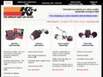 KN Automobilové a motocyklové náhradní filtry vzduchu, přívody Výkon Air olejové filtry