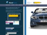 Kock-Parts ǀ Online Auto-onderdelen en Automaterialen bestellen met behulp van uw kenteken