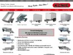 KÖNIG PKW-Anhänger in bester Qualität, vielseitig einsetzbar aus eigener Produktion