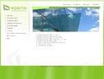 Kogita - berėmės stiklo konstrukcijos