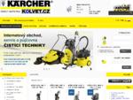 Kärcher - čistící stroje, vysokotlaký, parní čistič, vysavače | Kolvet. cz