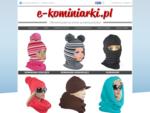 KOMINIARKI DZIECIĘCE - Czapki i kominiarki dla dzieci - Czapki i kominiarki - producent - ...