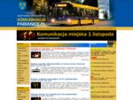 KomunikacjaPabianice. pl - rozkład MZK Pabianice, MPK-Łódź, ZKM Łask, PKS, PKP
