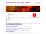KONSERWATORIUM MUZYCZNE W POZNANIU - Szko322;a z programem ABRSM