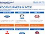 Nieuwe auto aanbiedingen van de diverse merken van Koops Furness