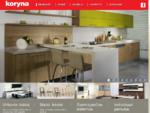 Čekiški virtuvės baldai - «KORYNA»