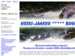 koskenlasku, Ruunaan kosket, valmismatka Itä-Suomeen - Koski-Jaakko Ky