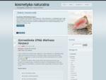 Strona domeny kosmetyka-naturalna. pl