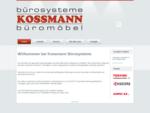 Kossmann Objekteinrichtung Präsentationstechnik Seminarmöbel Büromaschinen