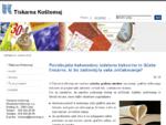 Tiskarna Koštomaj | Povečajte prodajo - tiskajte pri nas
