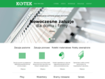 ¯aluzje Rzeszów 8226; Rolety Rzeszów 8226; KOTEK