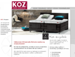 KOZ by Lama - Nordisk Sovekomfort - Elevationssenge, boxelevation, boxmadrasser, continental seng