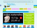 Kraina Filcu - wełna czesankowa, czesanka, filc dekoracyjny, decoupage