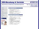EDV-Beratung Und Vertrieb Dipl. -Ing. Volkmar Krannich