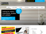 Blinds, Curtains, Shutters | Kresta New Zealand