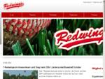Baseballclub Kriftel Redwings e. V. Welcome Willkommen