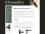 KR Lucas Company | Hardware, Bluespec, Window Fittings, Hinges | St Leonards NSW