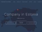 Estonian Company Registration, Estonian Company Formation 124; Company in Estonia 124; KRM ...