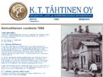 K. T. Tähtinen Oy - Ilmastointi, pelti ja metallirakenteiden ammattilainen vuodesta 1894