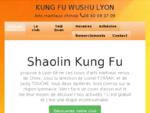 Kung Fu Wushu Lyon Villeurbanne-Arts Martiaux- Art de Chine